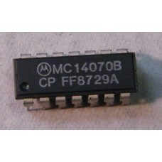 "MC14070BCP - QUAD EXCLUSIVE ""OR"" AND ""NOR""."