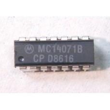 "MC14071BCP - QUAD ""OR"" GATE."
