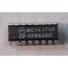 MC14174BCP - HEX D TYPE FLIP FLOP.
