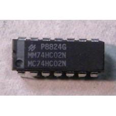 MC74HC02N - QUAD 2 INPUT NOR GATE.