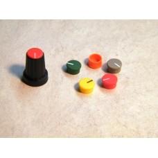 BLACK PLASTIC ROTARY KNOB INDICATOR CAP.