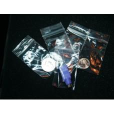 2 X 3 - 2 MIL RECLOSABLE POLY BAGS (100 PCS.).