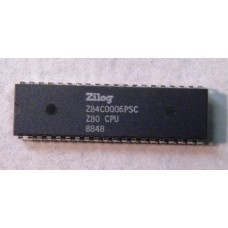Z84C0006PSC (Z80) CPU.